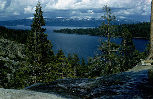 View of Lake Tahoe - Emerald Bay.